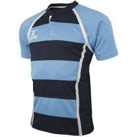 Maillot rugby Gilbert Xact rayé