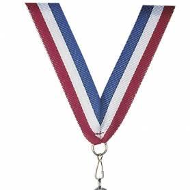 Rubans pour médailles tricolore