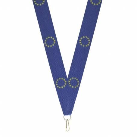 10 rubans pour médailles Europe
