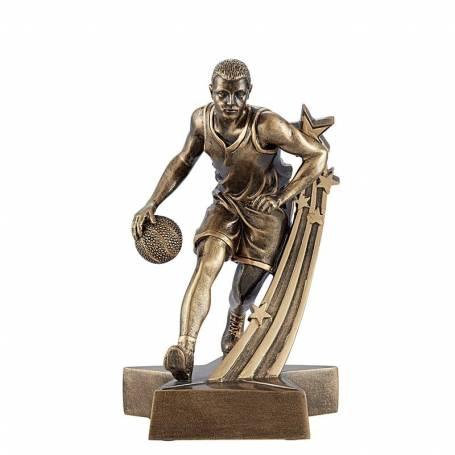 Figurine basketball masculin