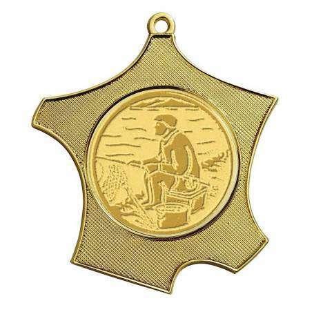 Médaille en forme de carte de France