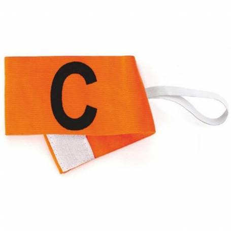 Brassard capitaine orange fluo