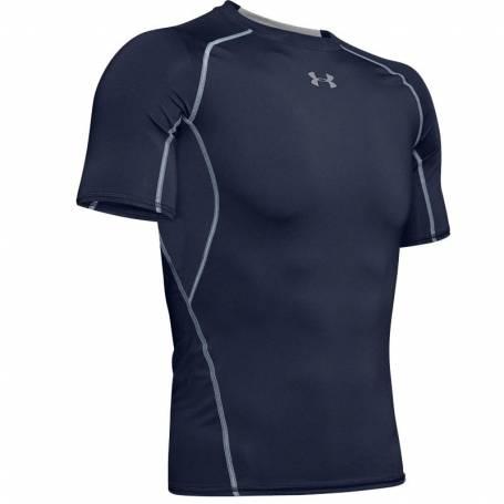 T-shirt Compression UA HeatGear Marine