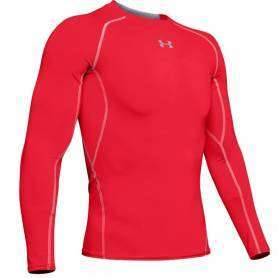 Maillot de compression UA HeatGear Rouge