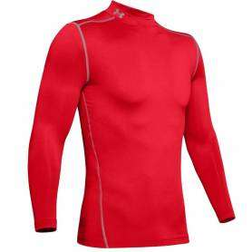 Maillot de compression UA ColdGear Rouge