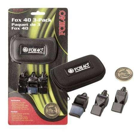 Pack de 3 sifflets Fox 40