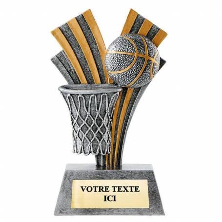Trophée résine basketball