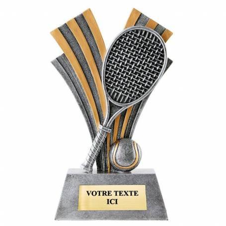 Trophée résine tennis
