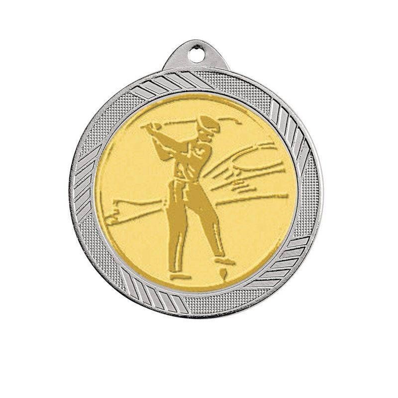 3 Médailles émaillées laiton massif