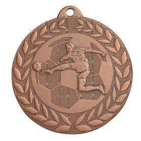 3 Médailles laiton massif 50 mm N° 3