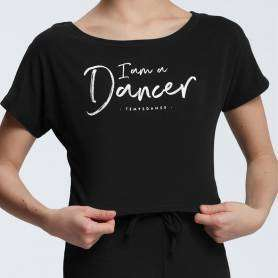 T-shirt court de danse Agile I AM