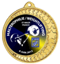 Pastille epoxy pour médaille diamètre 50 mm