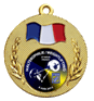 Pastille epoxy pour médaille diamètre 25 mm