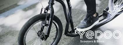 Yedoo Trottinettes de sport footbike